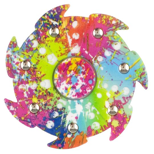 Rainbow Splash Fid Spinner Stress and Anxiety Reliever Toy