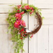 Summer Floral Wreath, medium