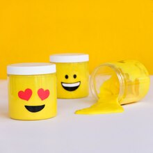Emoji Slime Jar, medium