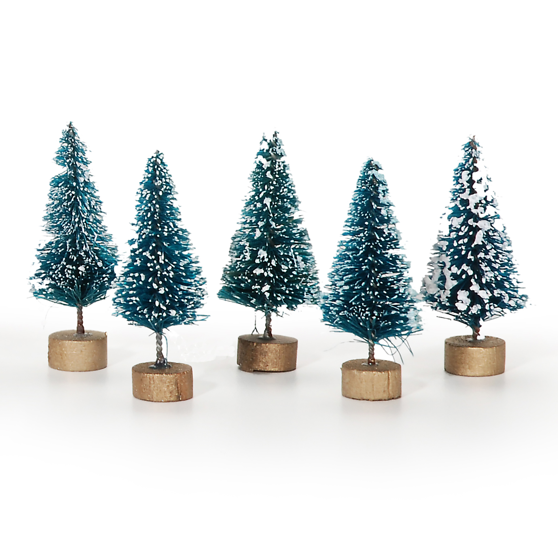 Find the Tiny Treasures Mini Sisal Christmas Trees with Frost By ...