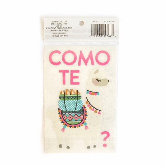 Shop For The Como Te Llama Vinyl Decal Sticker By Recollections - Vinyl stickers for glass michaels