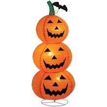Collapsible Jack-O'-Lantern Lamp By Ashland