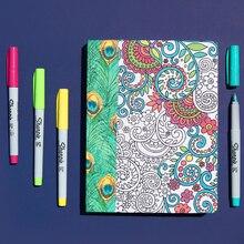 Coloring Fabric Journal, medium