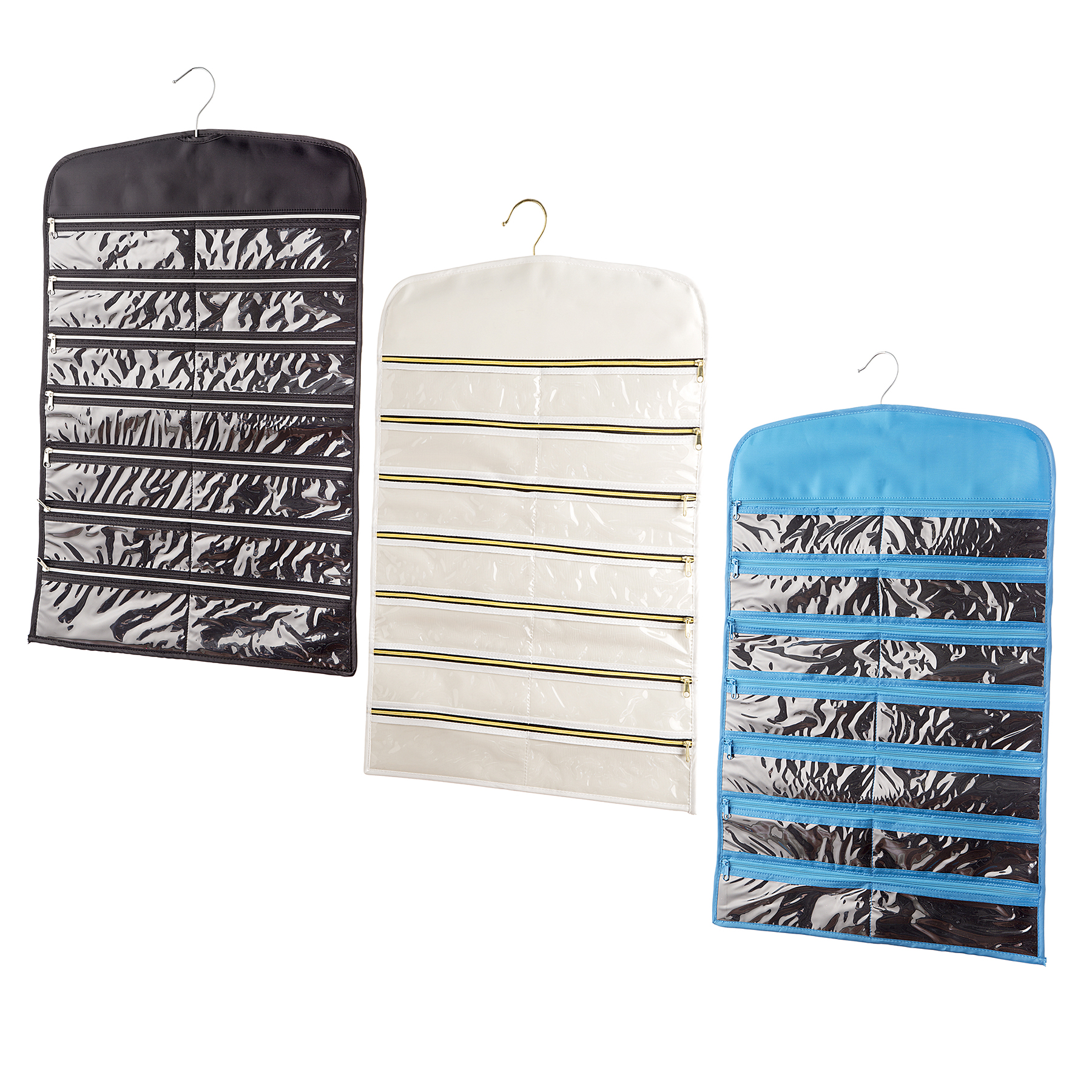 Buy the Assorted Zippered Jewelry Organizer By Bead Landing at