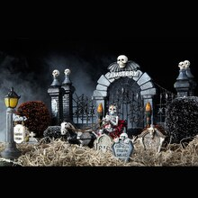 miniature halloween graveyard medium - Michaels Halloween