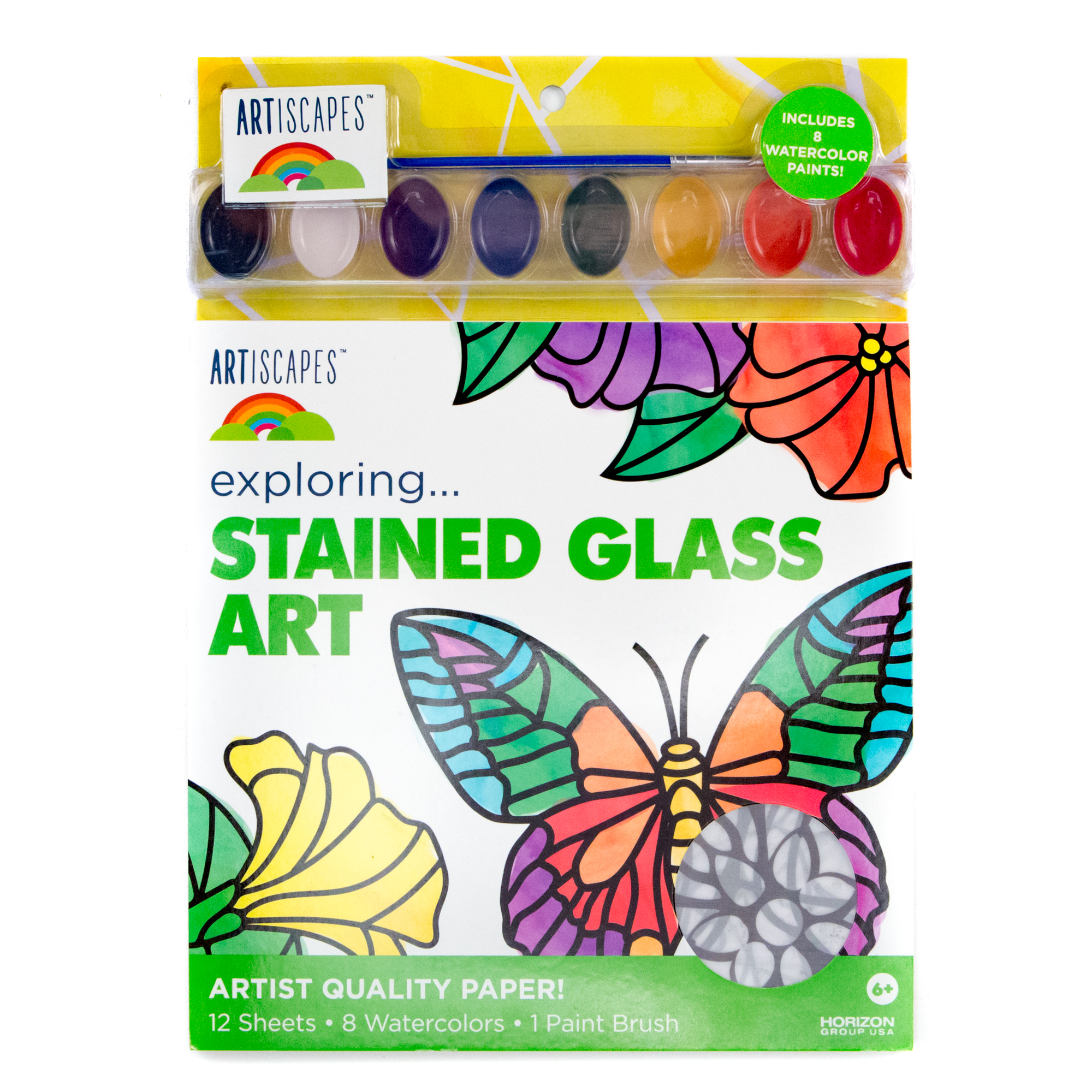 artiscapes stained glass art kit