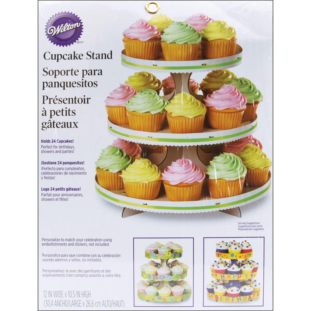 Wilton 174 3 Tier Cupcake Stand