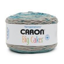 Caron Big Cakes Yarn, Blue Macaron