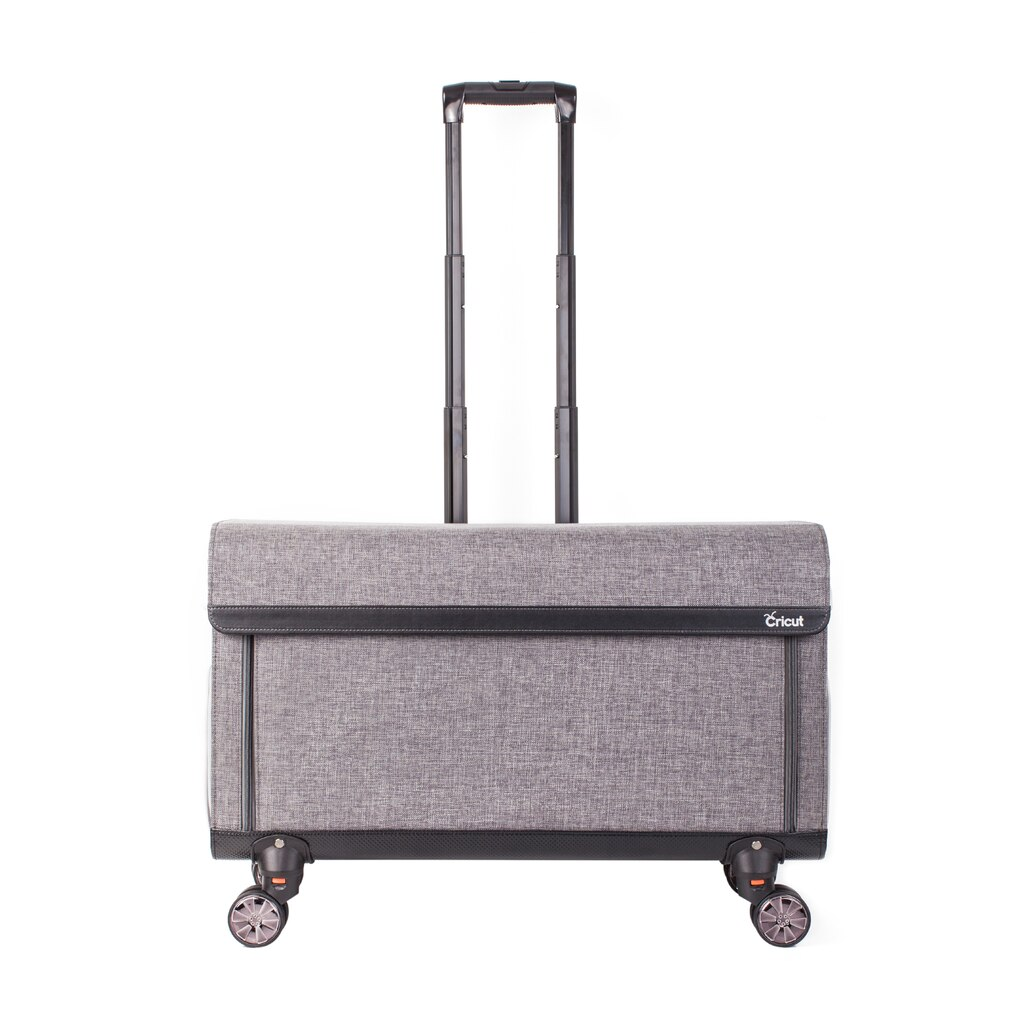 Cricut rolling craft tote tweed for Michaels craft storage cart