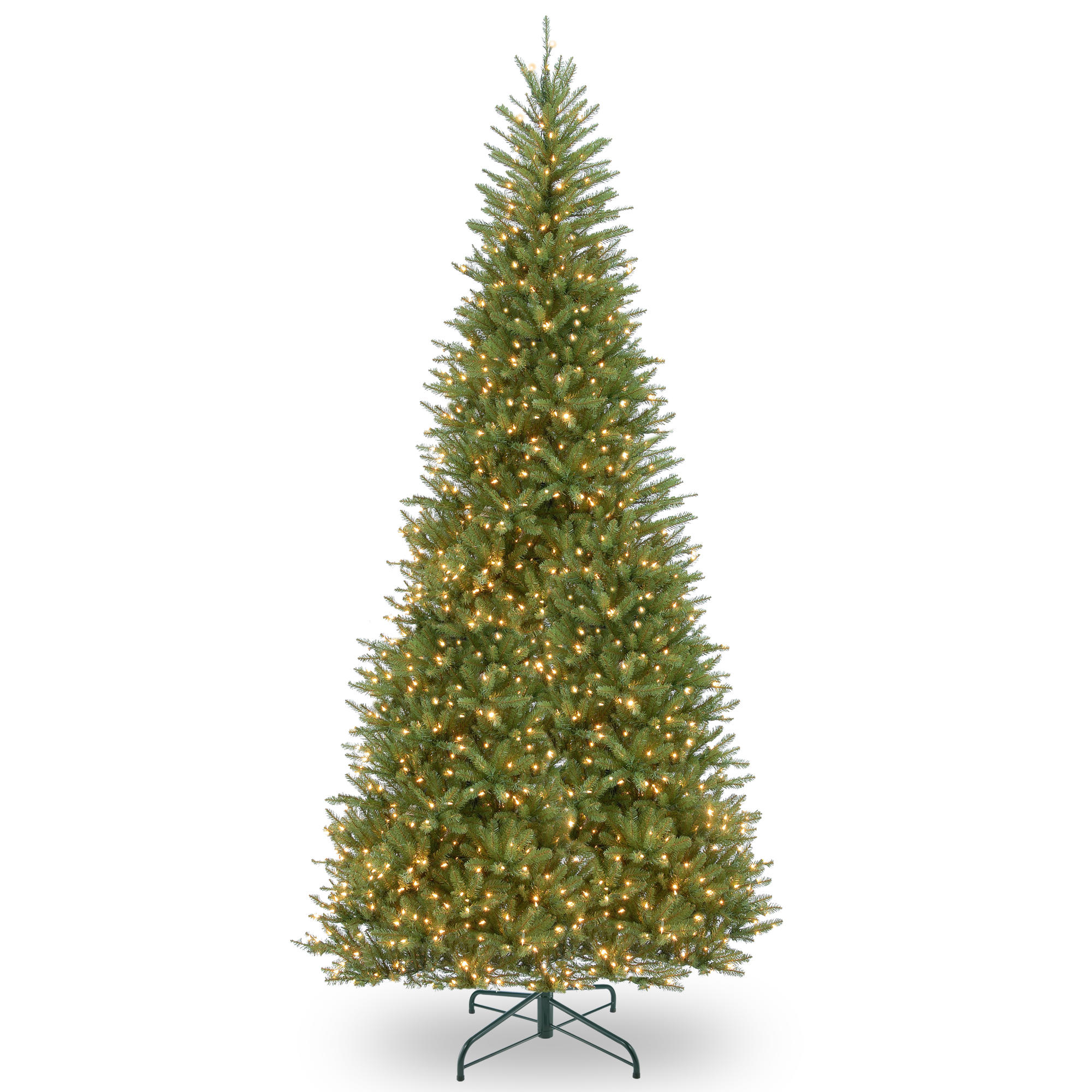 Buy the 12 ft. Pre-Lit Dunhill® Fir Slim Artificial Christmas Tree ...