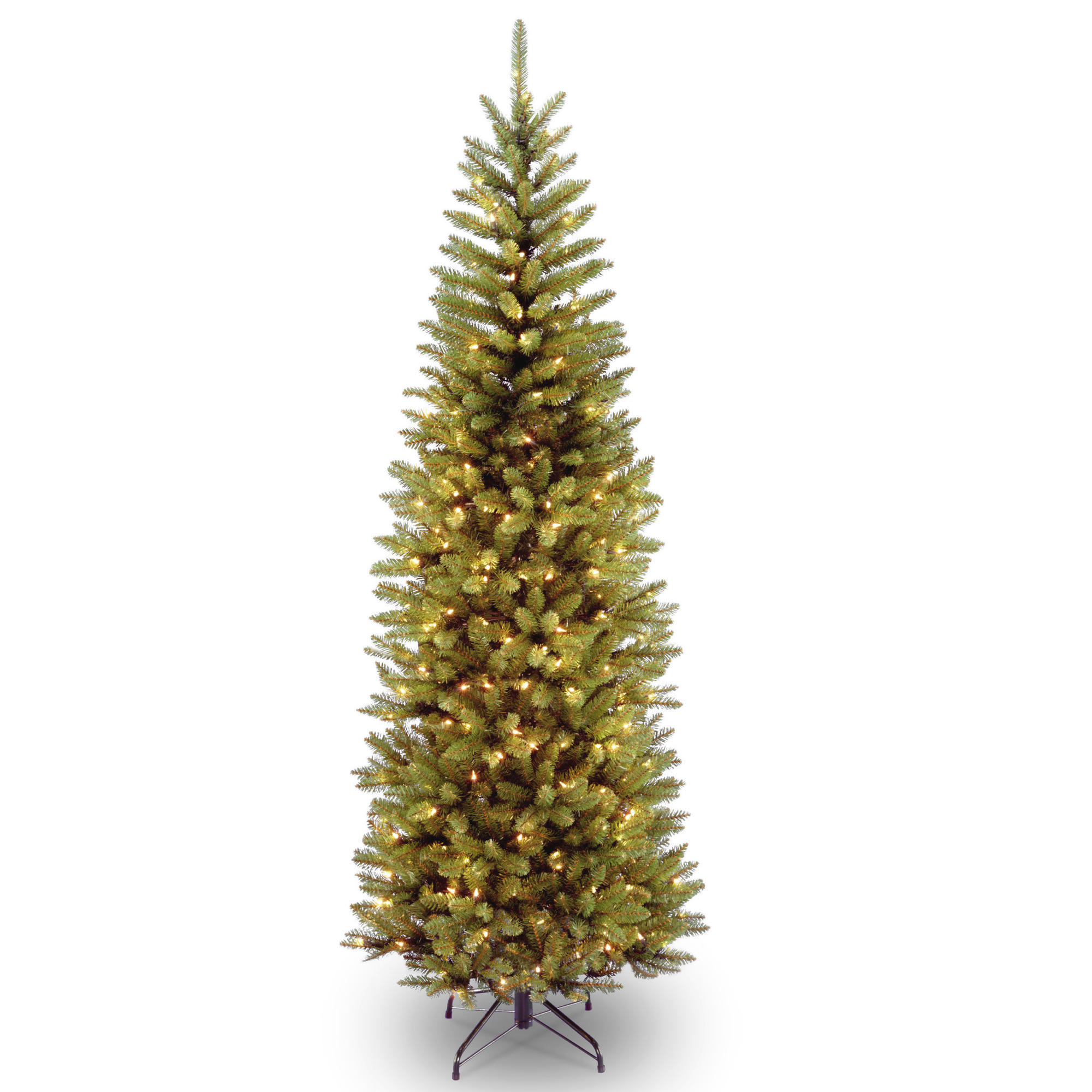 Buy the 7 ft. Pre-lit Kingswood Fir Pencil Artificial Christmas ...