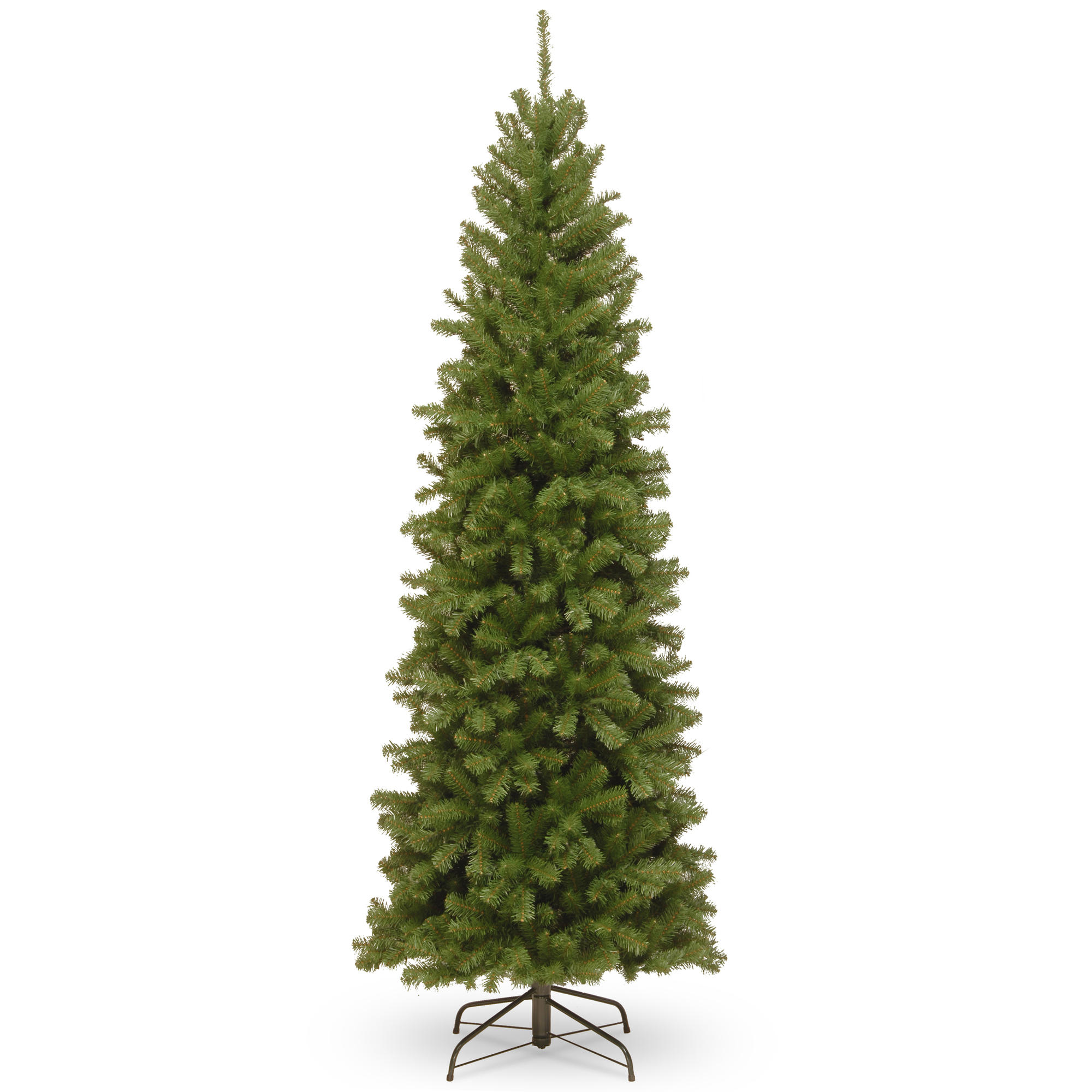 Buy the 7 ft. Unlit North Valley Spruce Pencil Artificial ...