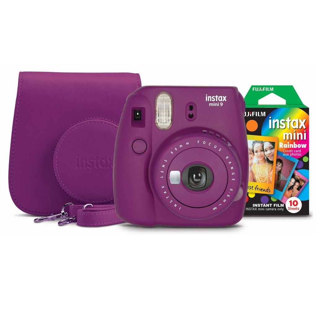 Buy the fujifilm instax mini 9 camera bundle plum at for Instax mini 8 housse