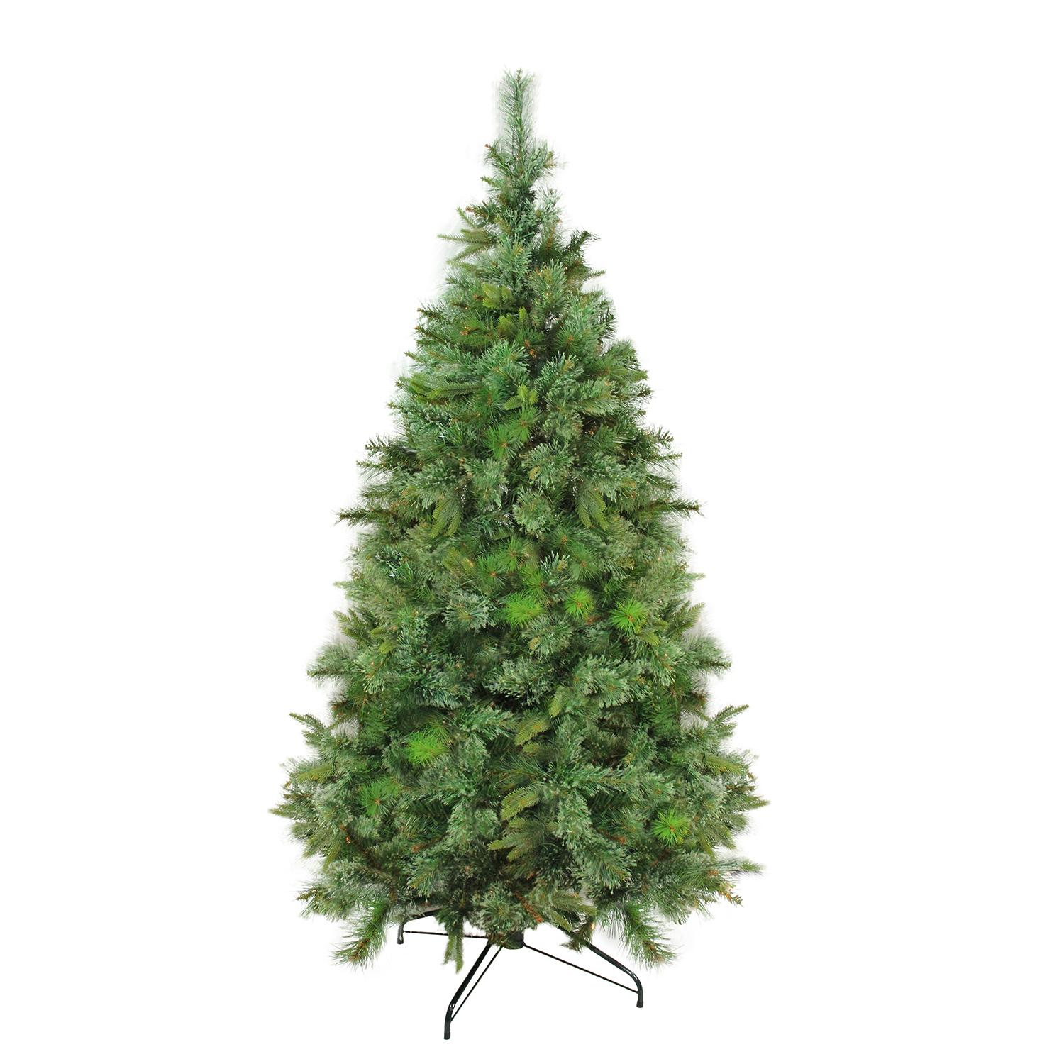 65 ft cashmere mixed pine full artificial christmas tree unlit