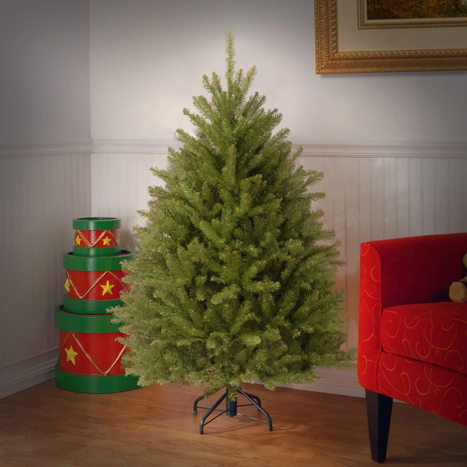 Buy the 4.5 ft. Dunhill® Fir Full Artificial Christmas Tree at ...