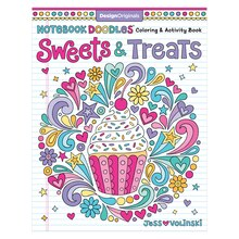 Notebook Doodles Sweet Treats Coloring Activity Book