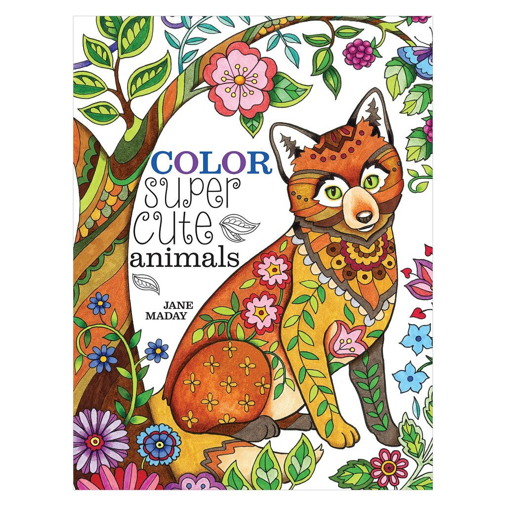 color super cute animals - Color Books