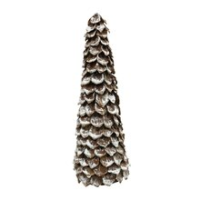 "16"" Sisal Shell Cone Tree By Ashland"