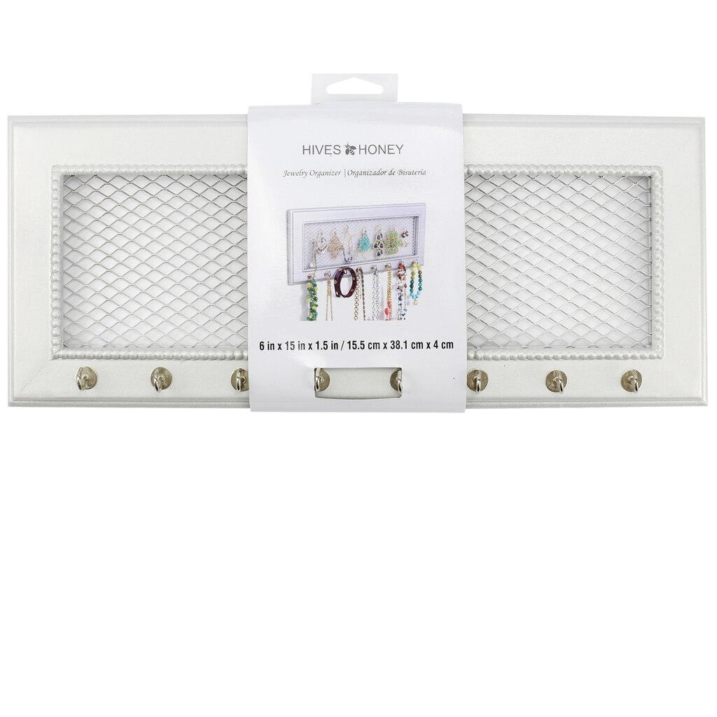 shop for the hives and honey jewelry holder frame at michaels - Michaels Frame Shop