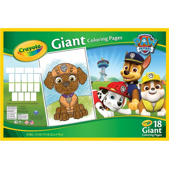 Shop for the Crayola Paw Patrol