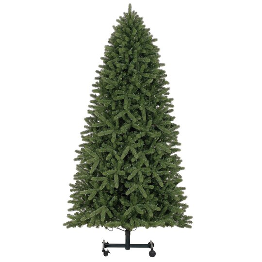 9 ft pre lit grand spruce grow stow quick set full artificial christmas tree warm led lights by ashland - 9 Ft Christmas Tree