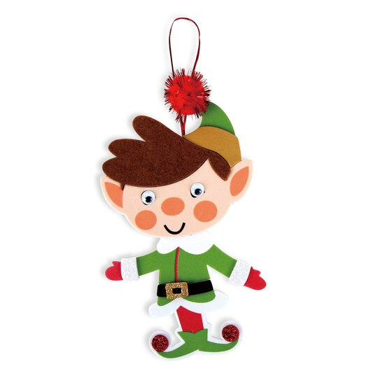 Shop for the Foam Elves Craft Kit By Creatology at Michaels