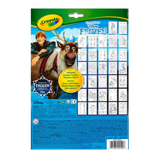 CrayolaR DisneyR Frozen Coloring Activity Pad