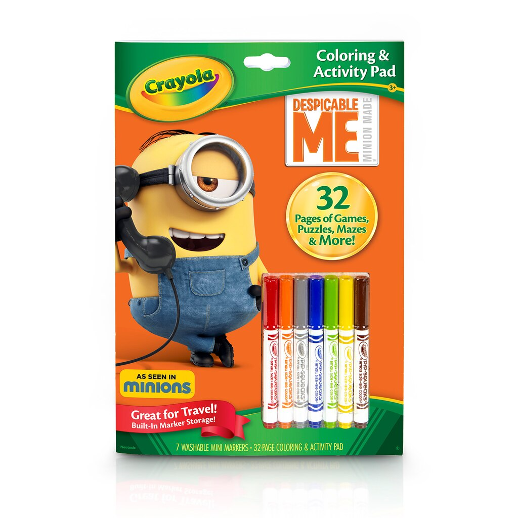 Crayola® Despicable Me™ Coloring & Activity Pad