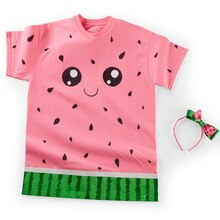 Kawaii Watermelon Last Minute Halloween Costume, medium