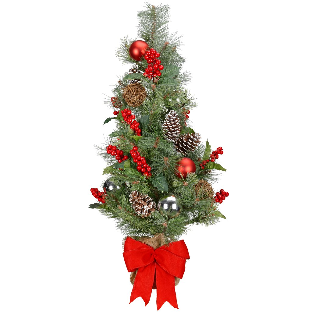 shop for the 36 handcrafted table top christmas tree at michaels - Table Top Christmas Trees