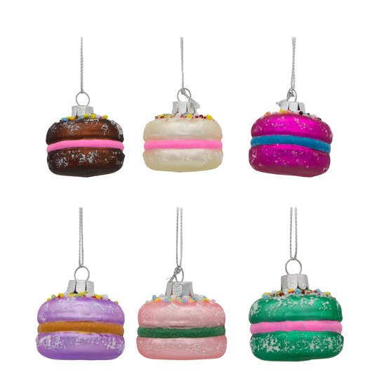 Buy the assorted macaroon christmas ornaments by ashland for Christmas ornaments clearance