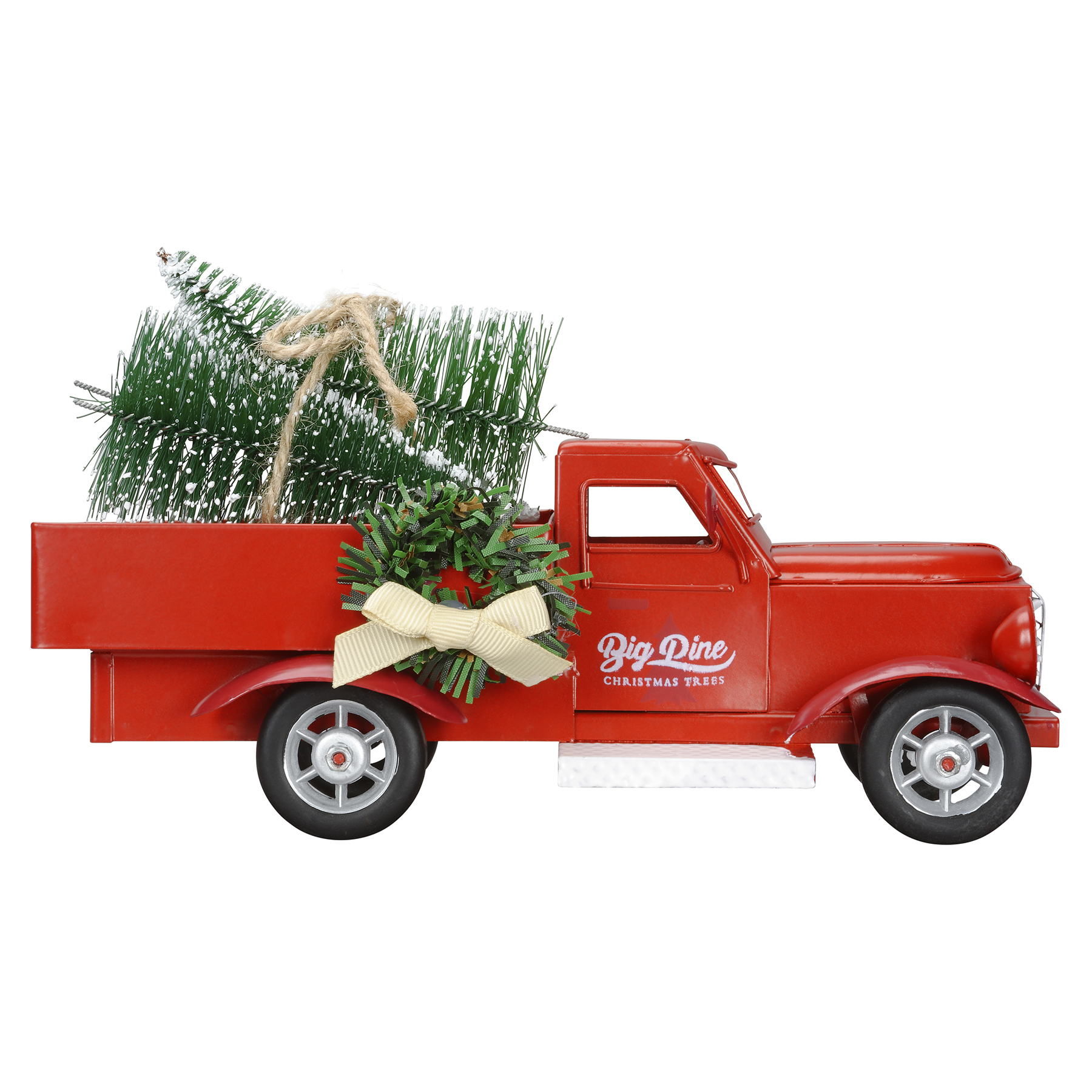 Shop for the Metal Truck with Christmas Trees By Ashland® at Michaels
