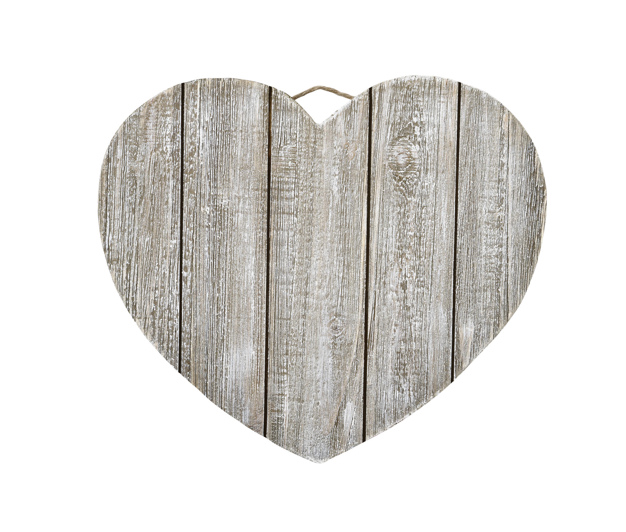 style selections 759in w x 423ft l aged gray oak smooth wood gray wash heart plaque by artminds