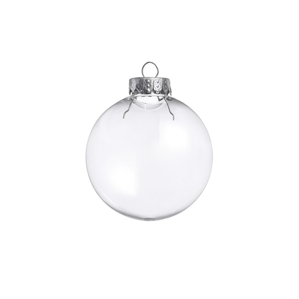 Buy the 6ct clear plastic disc ornaments by artminds at for Clear plastic craft ornaments michaels