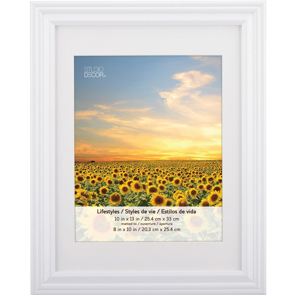 White Frame With Mat, Lifestyles™ By Studio Décor®