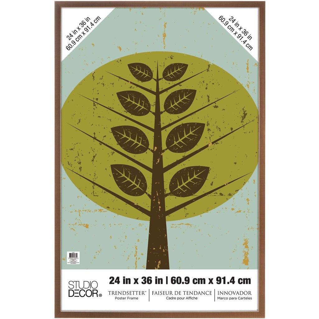 Bronze Trendsetter™ Poster Frame By Studio Décor®, 24\