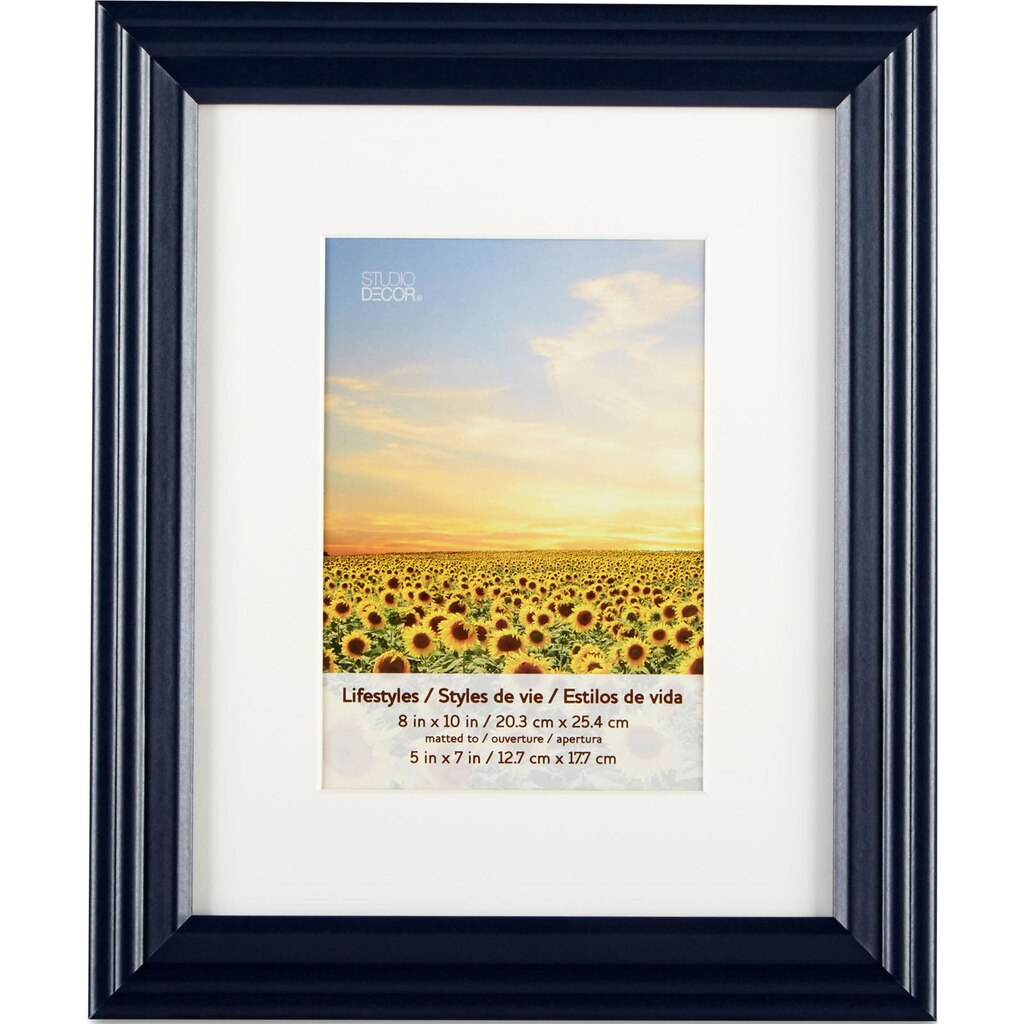 Black Frame With Mat Lifestyles By Studio D 233 Cor 174