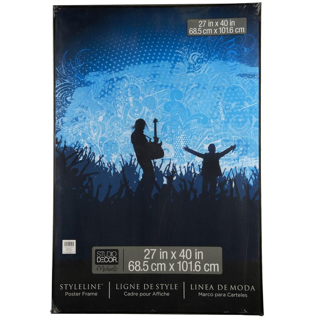Black styleline poster frame by studio dcor jeuxipadfo Gallery