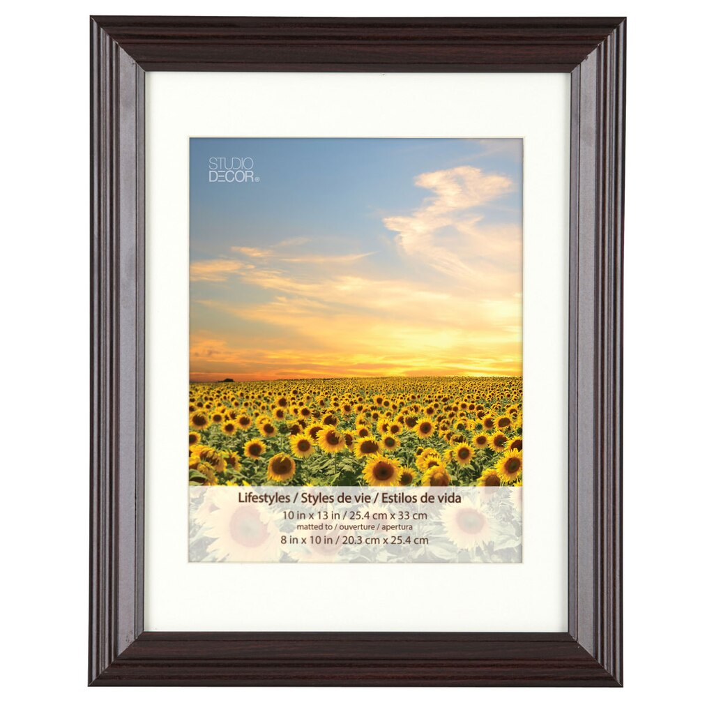 Black Cherry Frame With Mat, Lifestyles™ By Studio Décor®