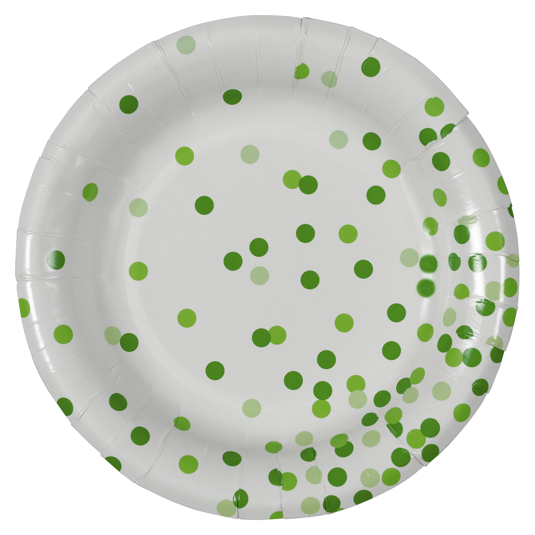 Green Dots Round Paper Plates By Celebrate It™  sc 1 st  Michaels Weddings & Buy the Green Dots Round Paper Plates By Celebrate It™ at Michaels