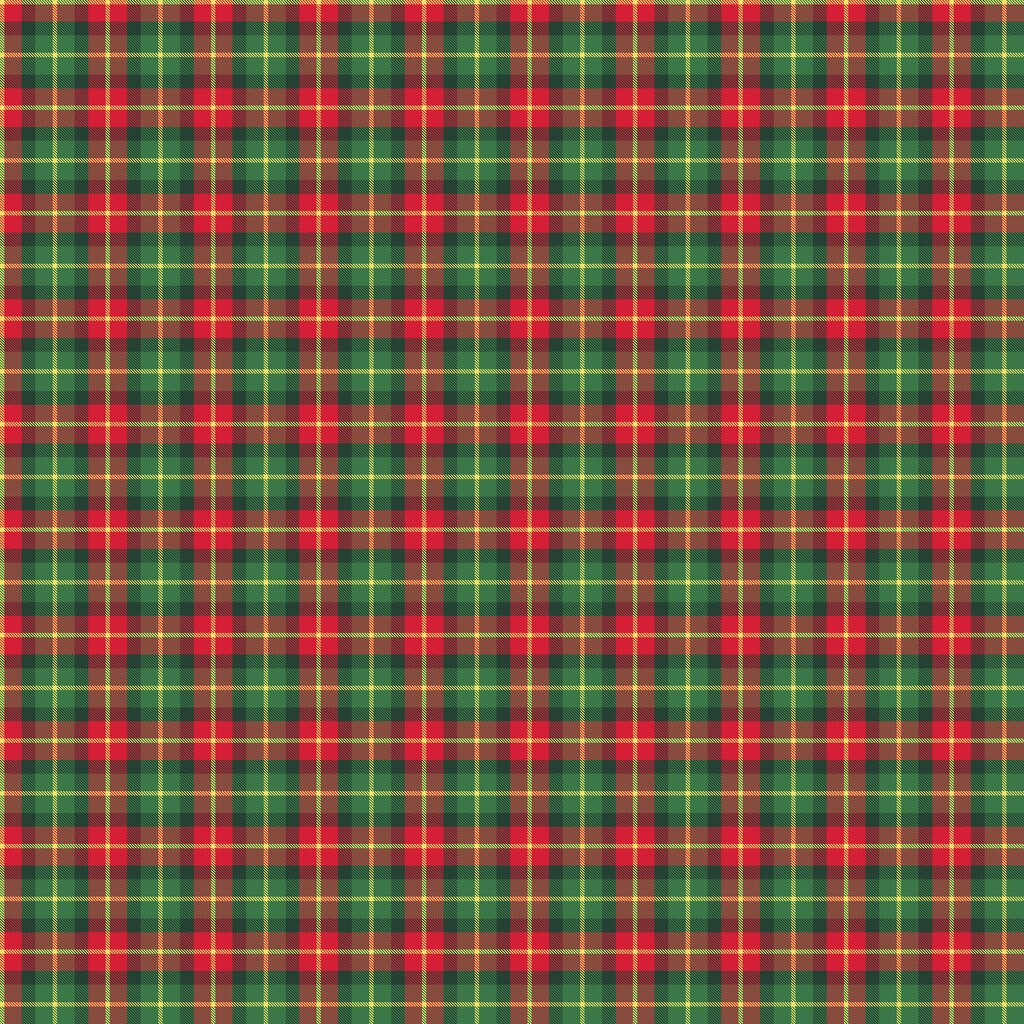 christmas green red plaid cotton. Black Bedroom Furniture Sets. Home Design Ideas