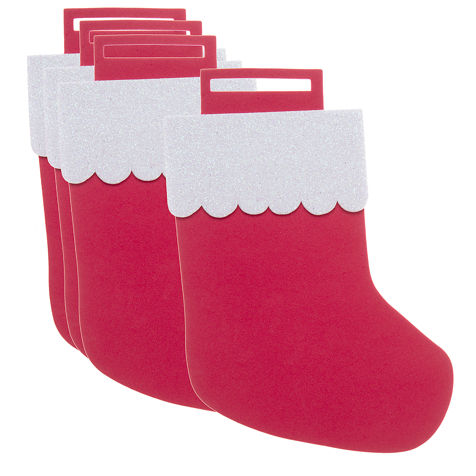 Find the Christmas Stocking Foam Shapes By Creatology® at Michaels