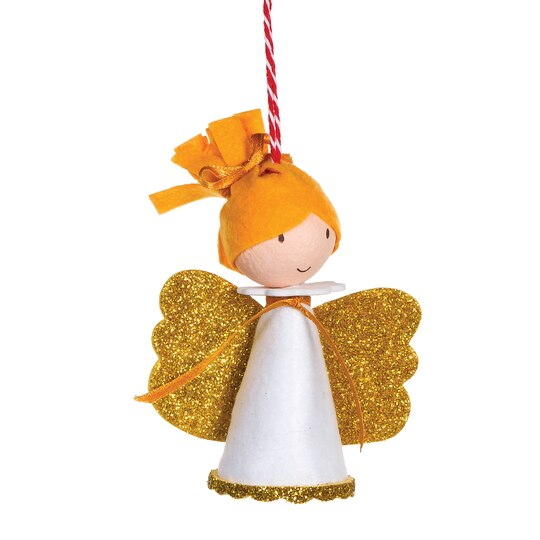 Find the AngelSnowman Foam Ornament Kit By Creatology at Michaels