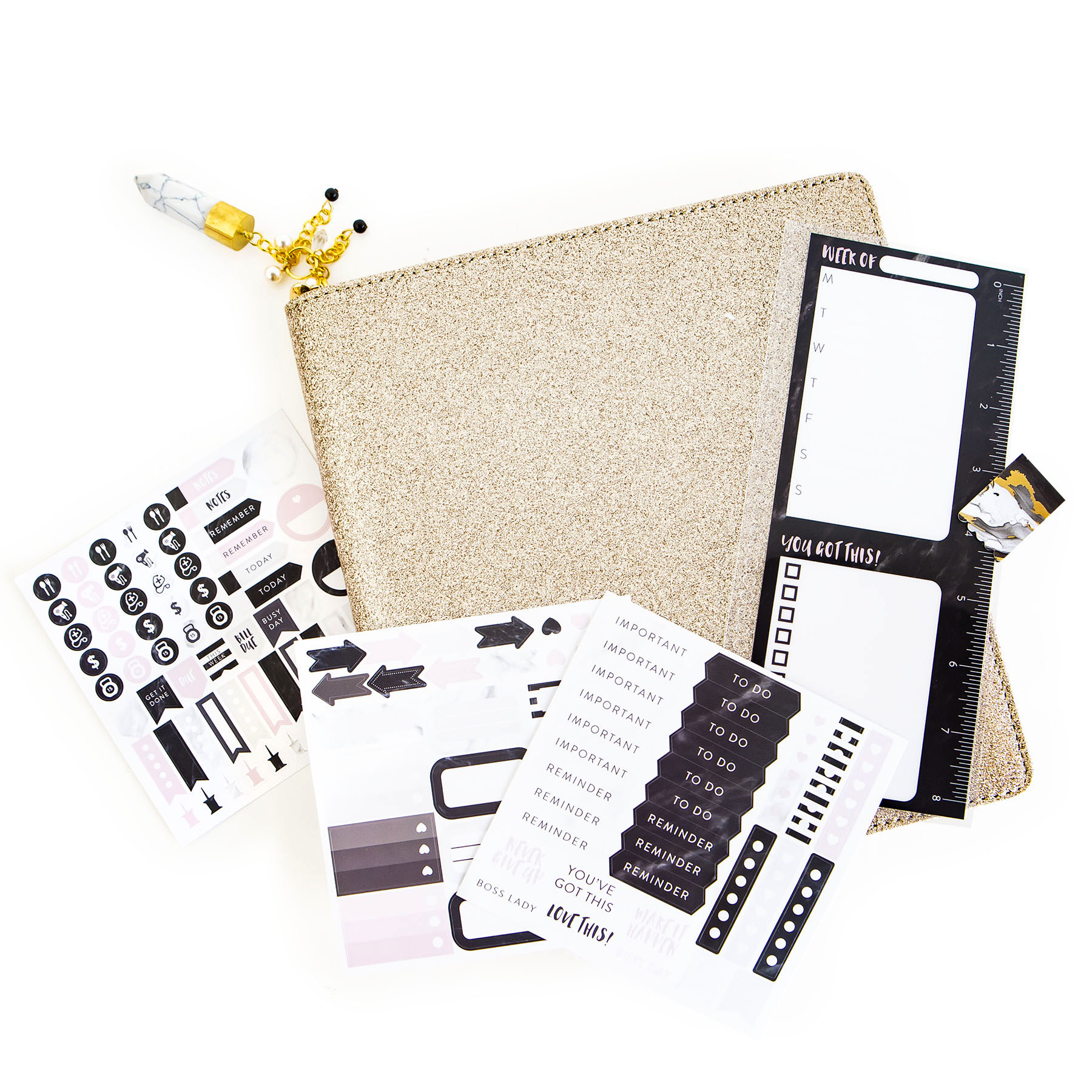 creative year gold accessory kit by