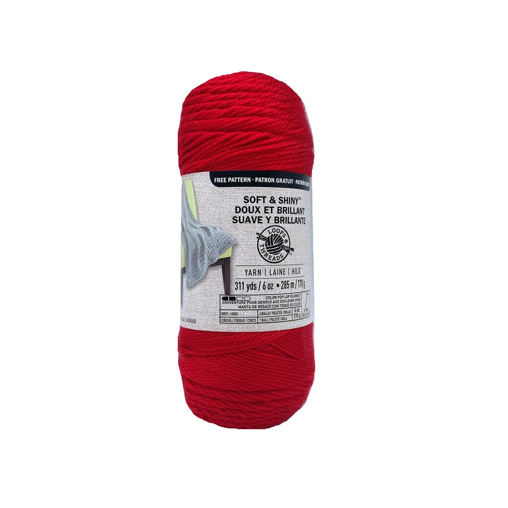 Soft & Shiny™ Yarn by Loops & Threads®