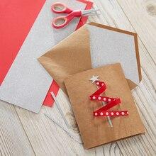 Narrow Ribbon Christmas Tree Card, medium
