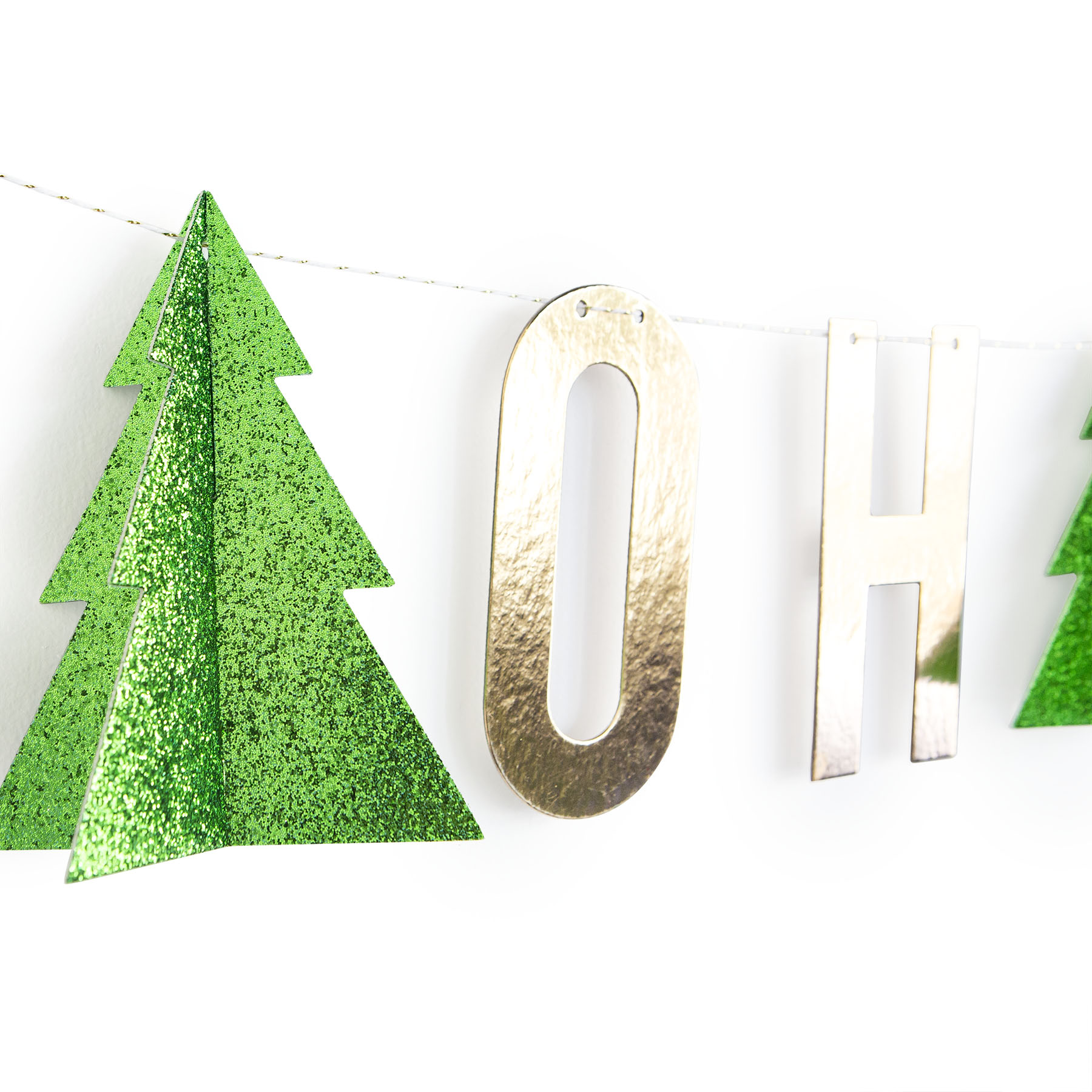 Buy The Gold Oh Christmas Tree Banner Kit By Recollections™ At