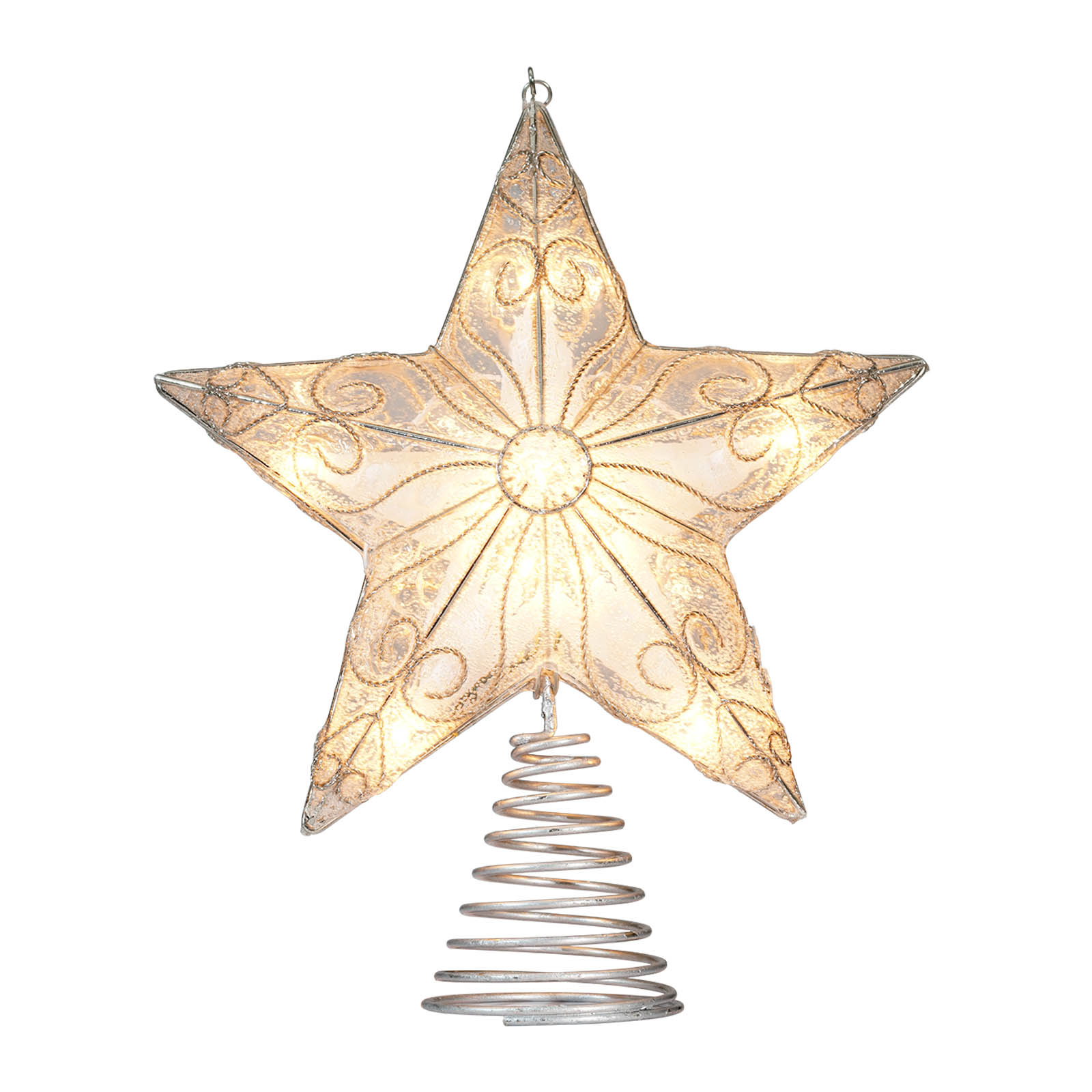 Find the Silver Star Christmas Tree Topper By Ashland® at Michaels