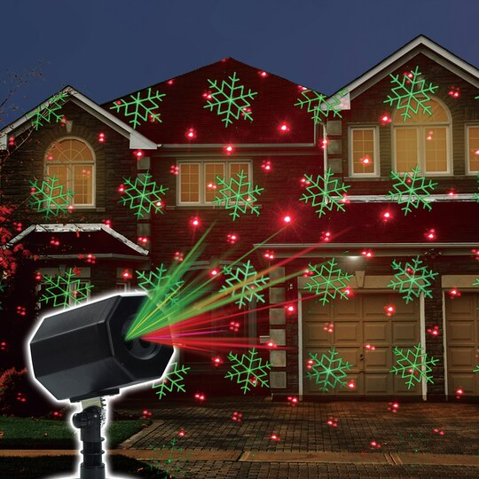 Buy The Snowflake LED Laser Light Projector By Ashland™ At Michaels - Michaels Christmas Lights