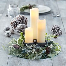 Mini Wreath Candle Centerpiece, medium